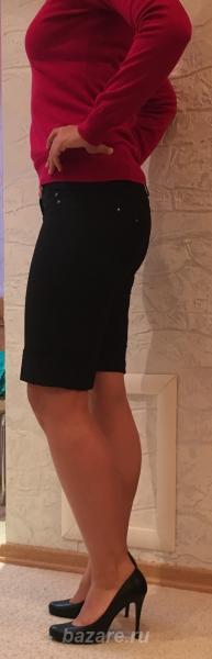 Прекрасные черные шорты бермуды фирмы Vivento - это всегда модно, . ..,  Ижевск