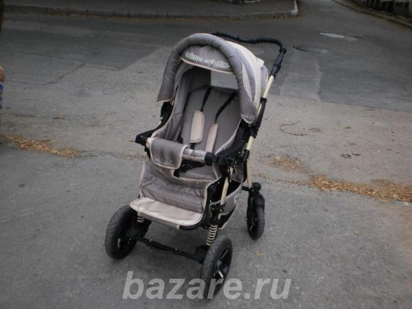 Продам детскую коляску-трансформер Dalmatin New б у, в хорошем состоян ..., Севастополь