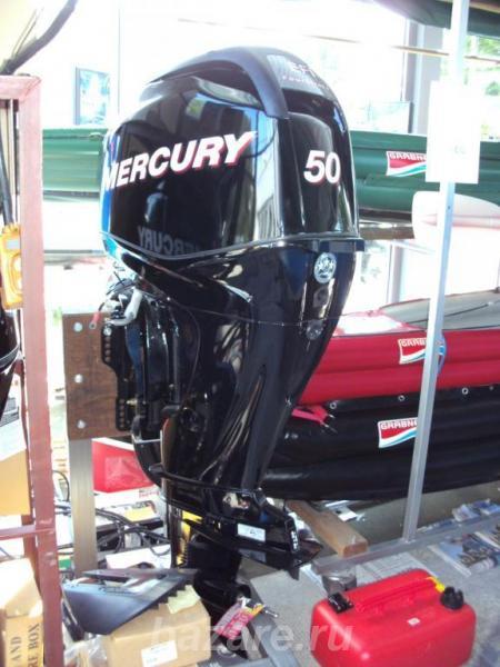 Лодочный мотор Mercury F50,