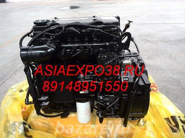 Двигатель для экскаватора Hyundai R210, R2000, R220, R260, R250 - Cumm ...,  Иркутск