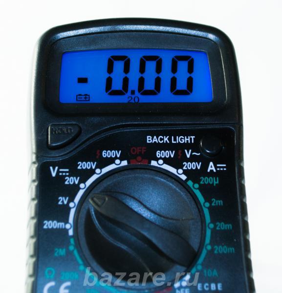 Мультиметр тестер XL830L с подсветкой, Нижний Новгород