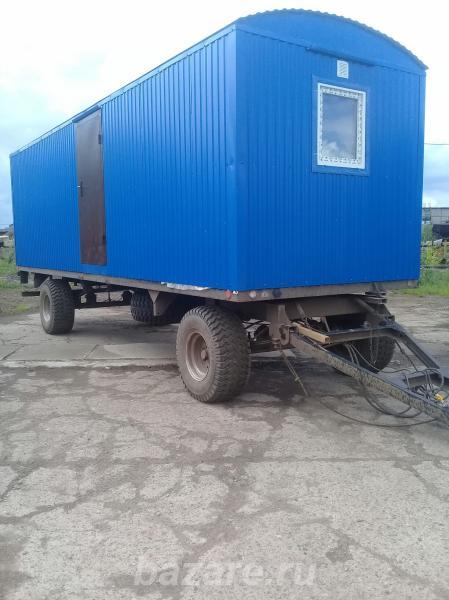 Вагон-дом для проживания на прицеп шасси колесах,  Ярославль