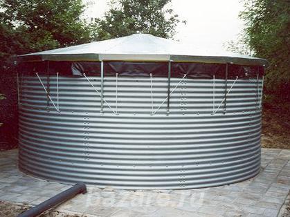 Резервуары для хранения воды и поливочных растворов.,  Смоленск