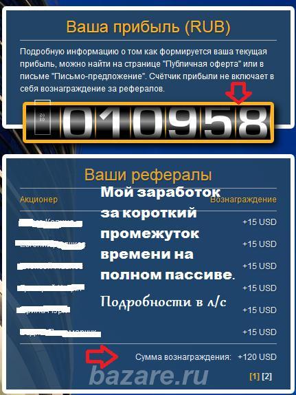 Пассивный доход,  Южно-Сахалинск
