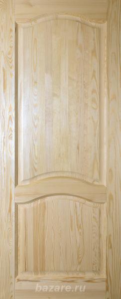 Двери филенчатые из массива сосны неокрашенные, Азов