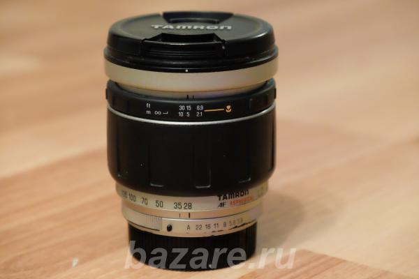 Продаётся объектив tamron 28 - 200mm F3.8,  Воронеж