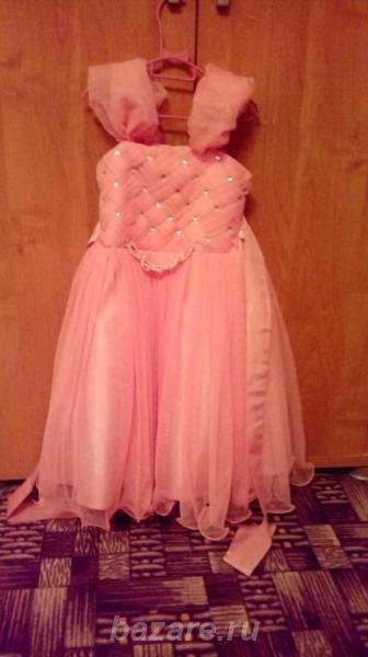 Продам красивое платье на девочку 4-5 лет, Борзя