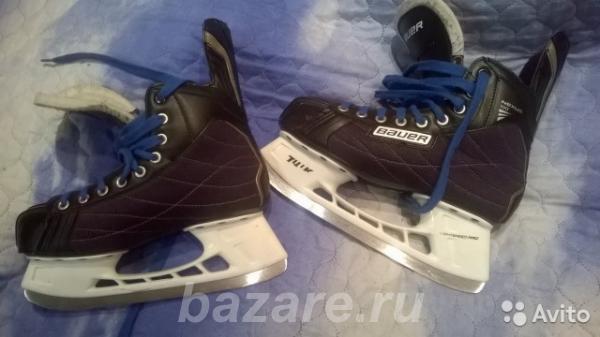 Коньки хоккейные Bauer Nexus 100 р. 42, Нижний Новгород