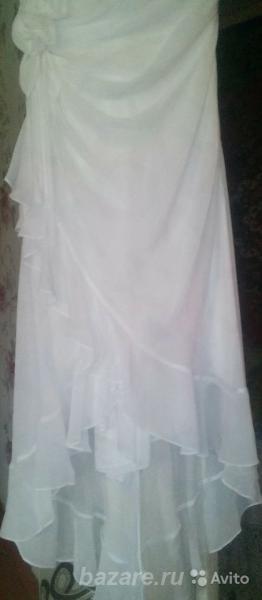 Белое платье молодой девушке на торжество, Шахунья