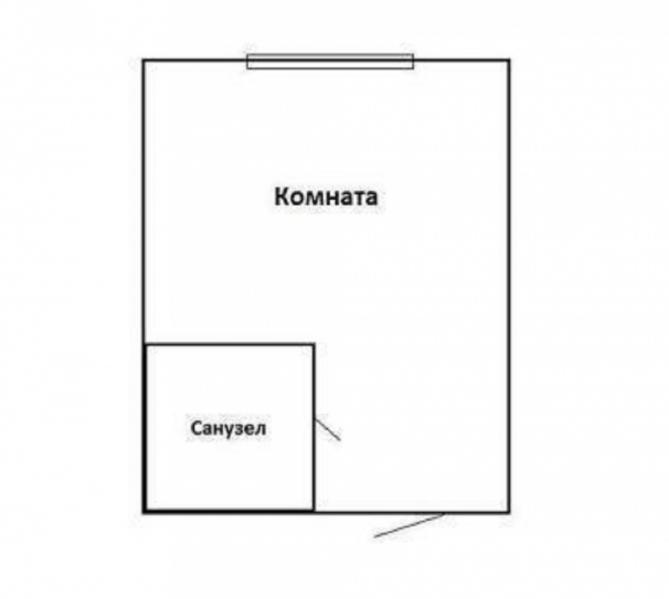 Продаю  студия квартиру, 13 кв м,  Томск