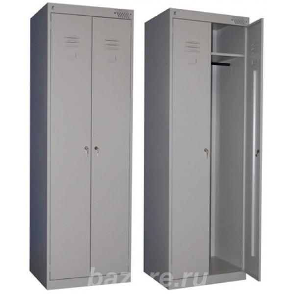 Шкафы для одежды, Шкафы для раздевалок из ДСП, Металлические шкафы,  Хабаровск