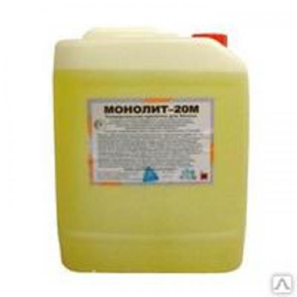 Пропитка для упрочнения и обеспыливания бетона Монолит 20М,  Белгород
