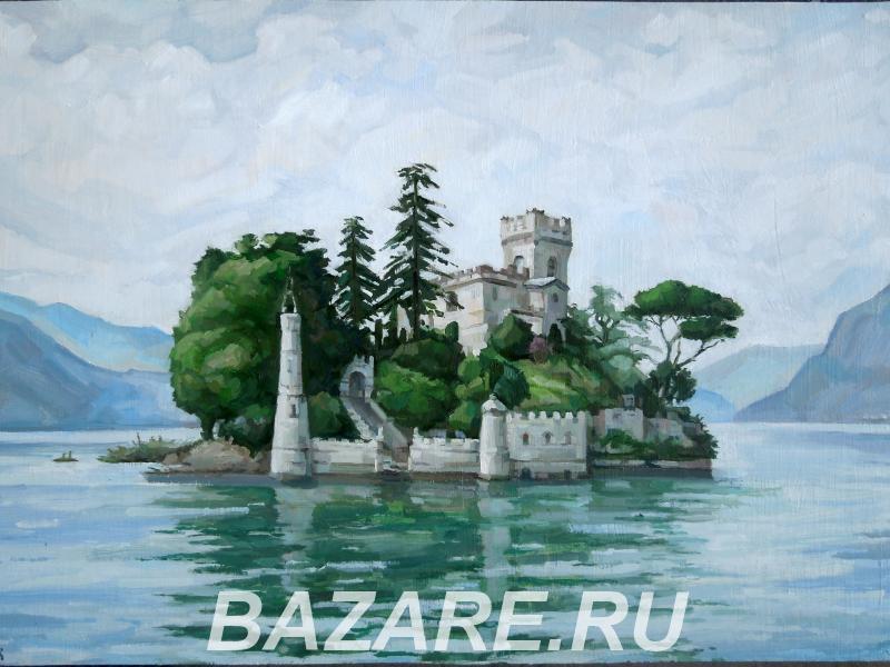Остров независимости Северных озер 60 80, холст, масло, Краснодар