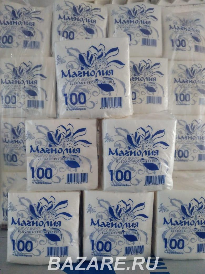 Продажа бумажных салфеток, Москва