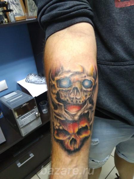 Элитная художественная татуировка, Краснодар