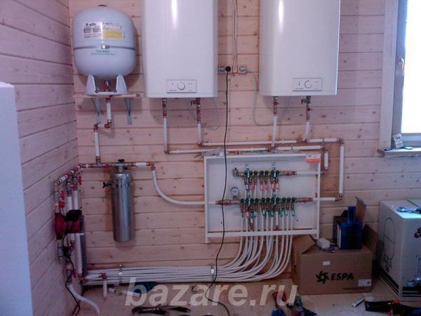 Монтаж систем отопления и водоснабжения, Москва