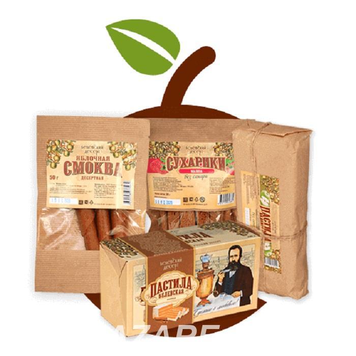 Производство и продажа яблочной пастилы, сухариков, смоквы, Белев
