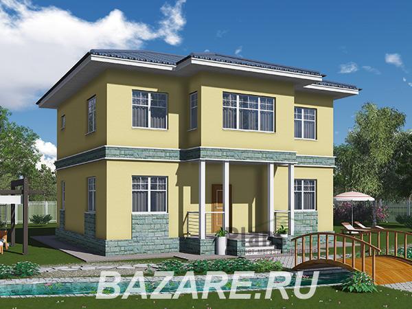 Проект каркасного дома более 160 кв. м. с полноценным ..., Москва