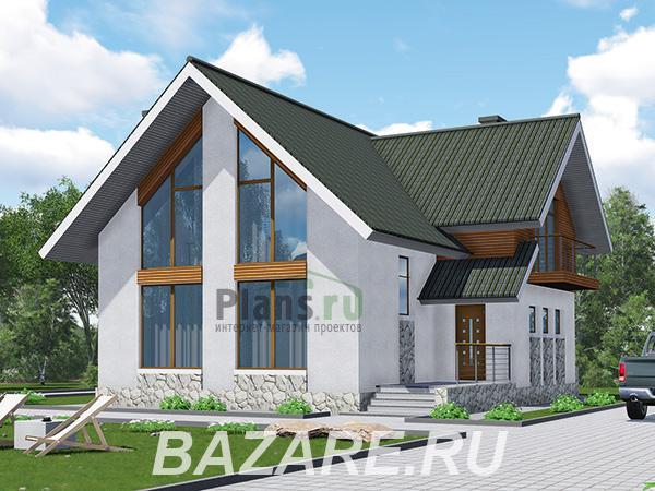 Каркасный дом с витражными окнами., Москва