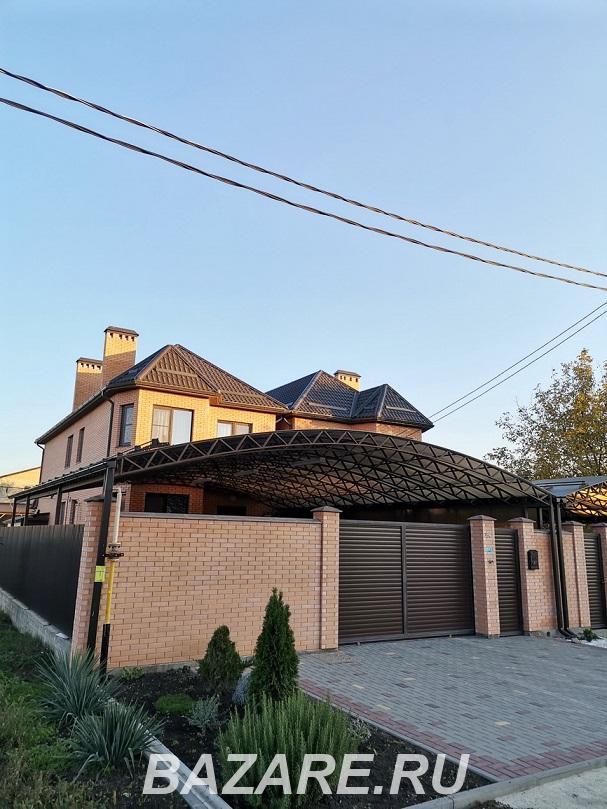 Продаю  дом , 242 кв.м , кирпичный, Краснодар. Прикубанский р-н